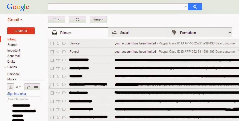 penipuan melalui email
