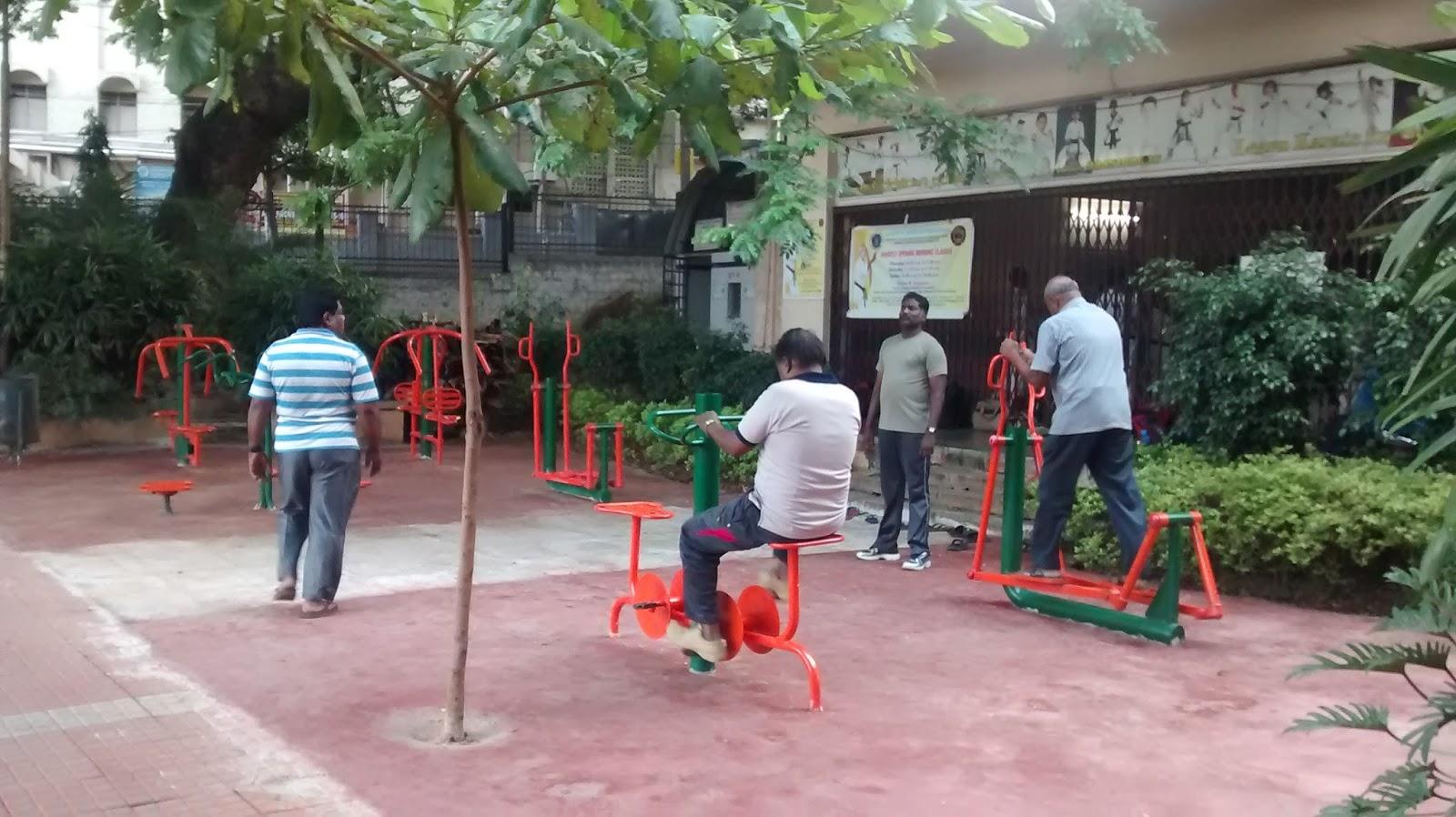 Affordable gym equipment in sheshadripuram park blr for Gardening tools in bangalore