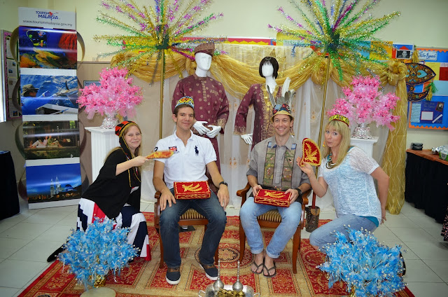 Malaysian room at International Day BIS 2013
