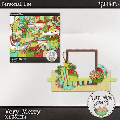 35% off New VERY MERRY + Freebie!