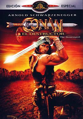 Conan El Destructor dvd