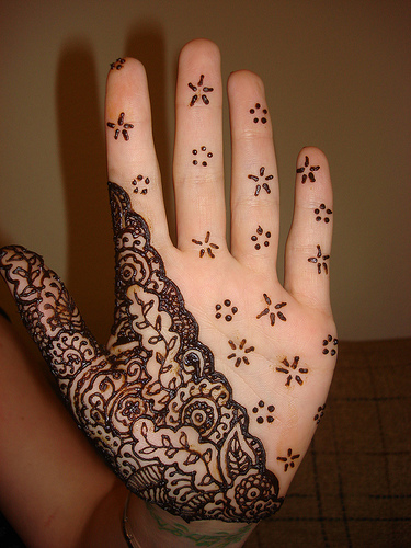 New Mehndi Patterns : Latest mehndi designs for hands henna