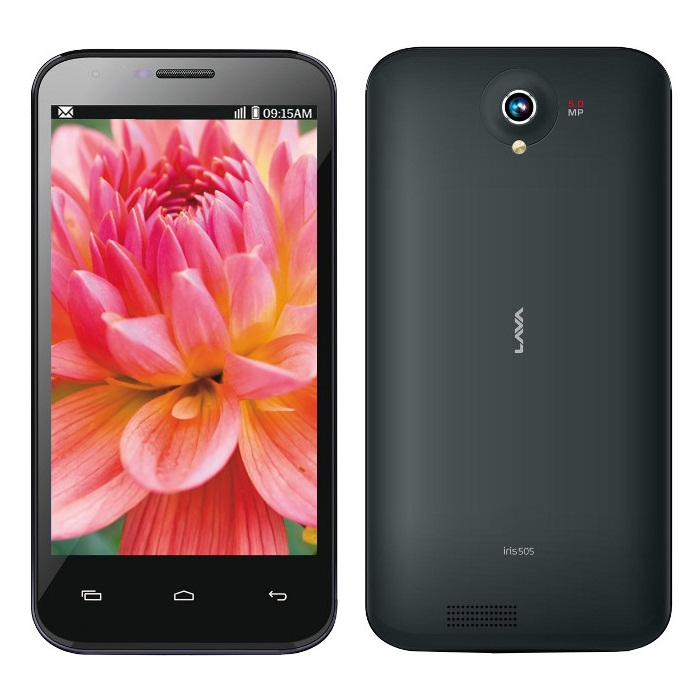 5-inch LAVA Iris 505 and Iris 506Q with 3G support now available ...