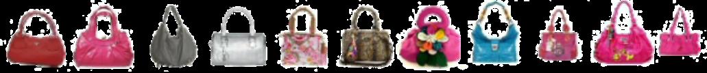 Row of Handbags
