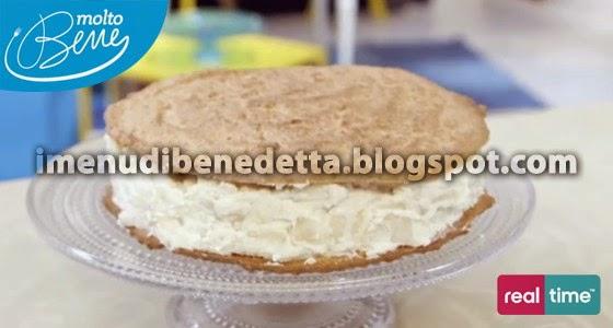 Torta Biscotto Ricotta e Pere di Benedetta Parodi