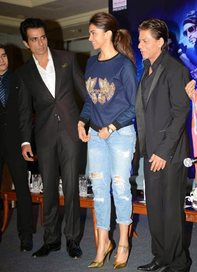 All starcast of movie HNY team at Delhi to promote cinema