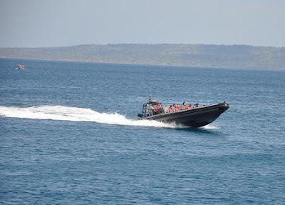 Danlantamal VII Bersama Satkamla Uji Kemampuan Sea Rider