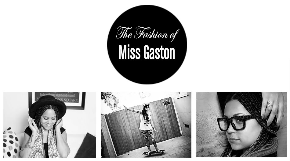 The Fashion of Miss Gaston