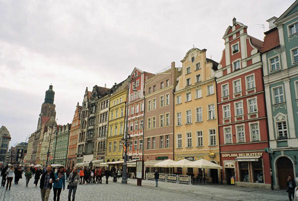 Market Square Wroclaw buildings