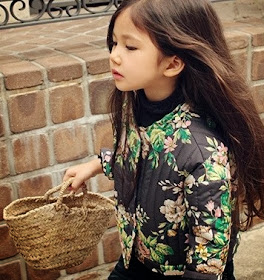 Amber moda coreana de estilo vintage para niñas Pequeña Fashionista