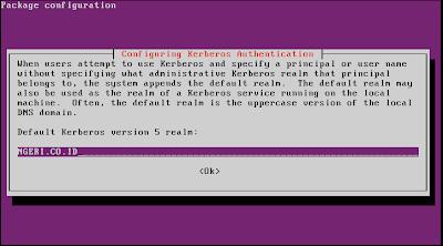configuring kerberos authentication 1