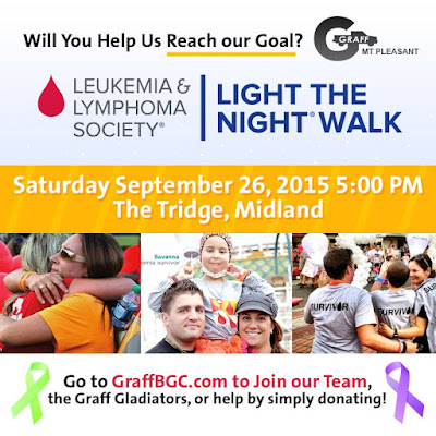 Light the Night Walk with Graff Mt. Pleasant