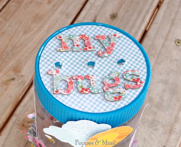 Upcycled bug jar lid | popperandmimi.com