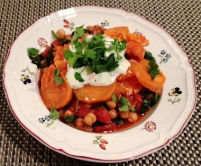 ottolenghi chickpea sweet potato stew