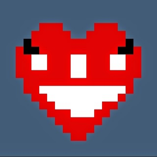 heart of mine 8bit art