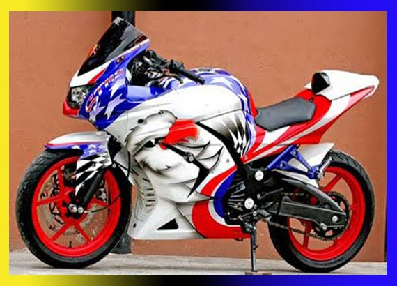 Modifiaksi Ninja 250 Streetfighter Glossy