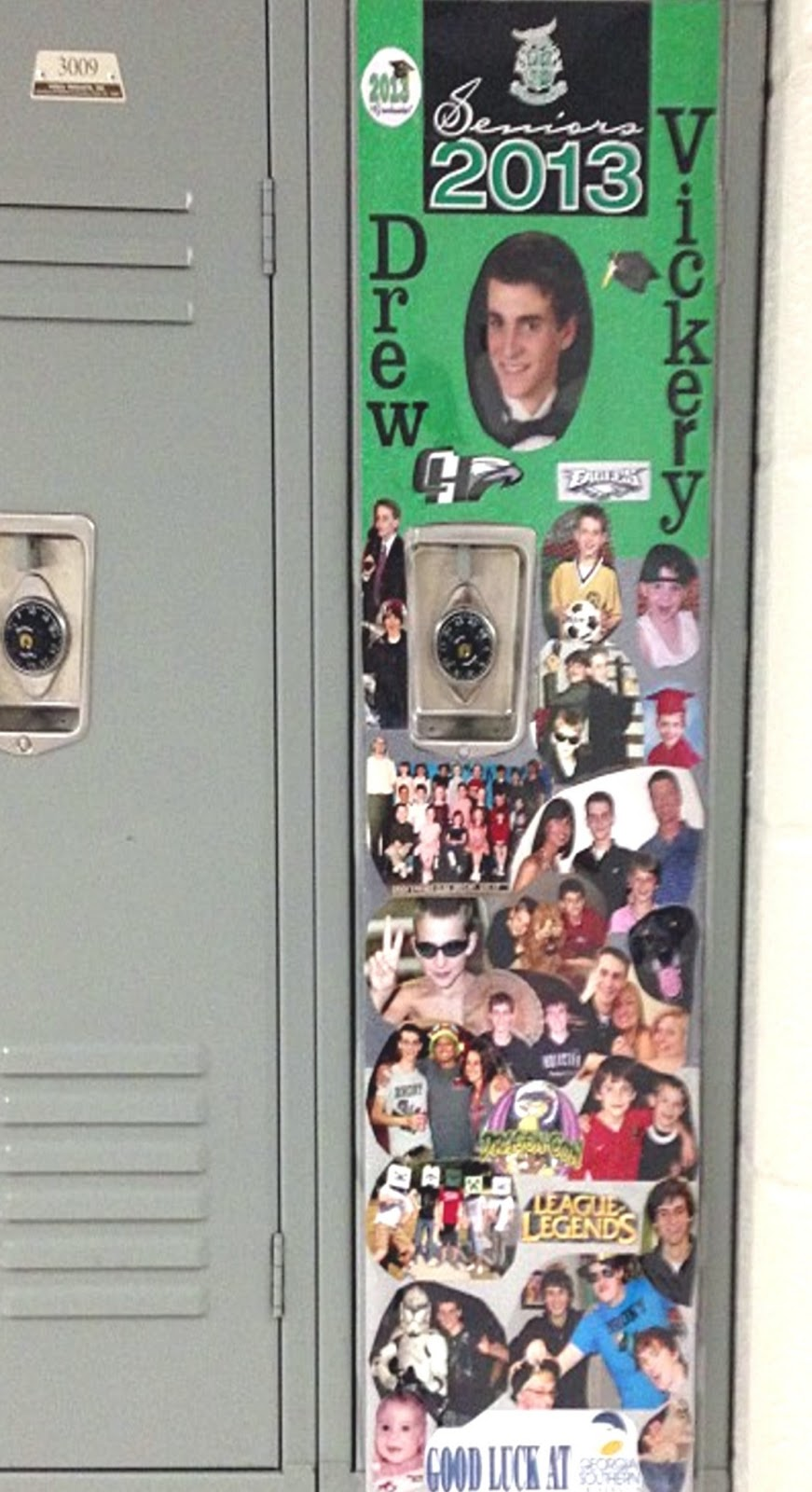 senior week varsity locker decorating 2013 - Locker Designs Ideas