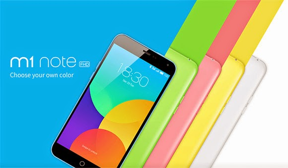 Meizu's M1 Note is a $160 blown up iPhone 5c