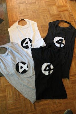Fantastic Four T-shirt Capes