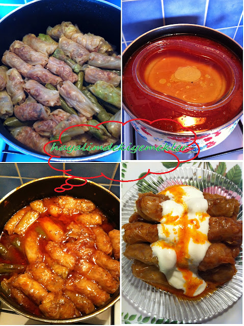 Lahana Dolmasi tarifi,resimli degisik,denenmis,lezzetli, kolay sarma tarifleri