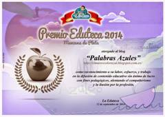 MANZANA DE PLATA en los III Premios Eduteca 2014