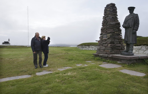 Norwegian Royal Family Visit Vardøhus Fortress In Vardø