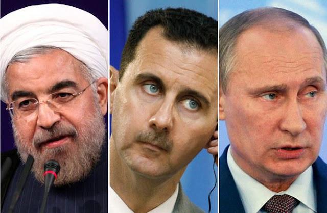 Putin: Rusia Tak Mau Terlibat Perang Sunni-Syiah, Tapi Dukung Bashar