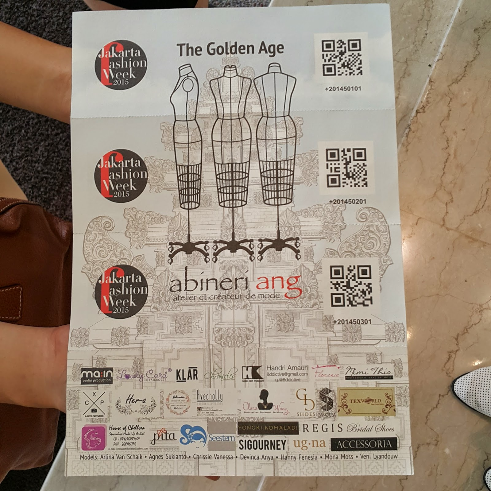 Behind the fabriannes jakarta fashion week 2015 this is the invitation stopboris Images