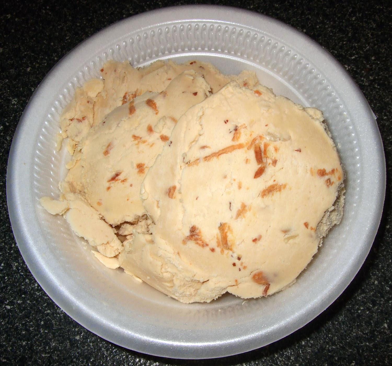 Scoop of ice cream.