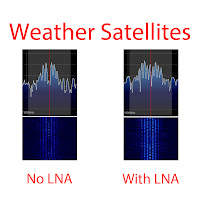LNA, RTL-SDR, SDRSharp, ADSB, Weather Satellites, AIS, antenna, setup, testing, review, comparison, DIY, Homebrew, NOAA, APT