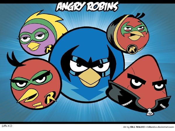 Angry Robins
