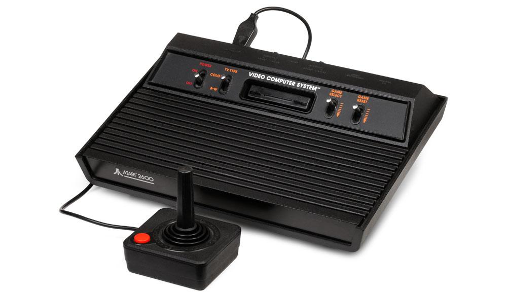 Atari 2600, o videogame.