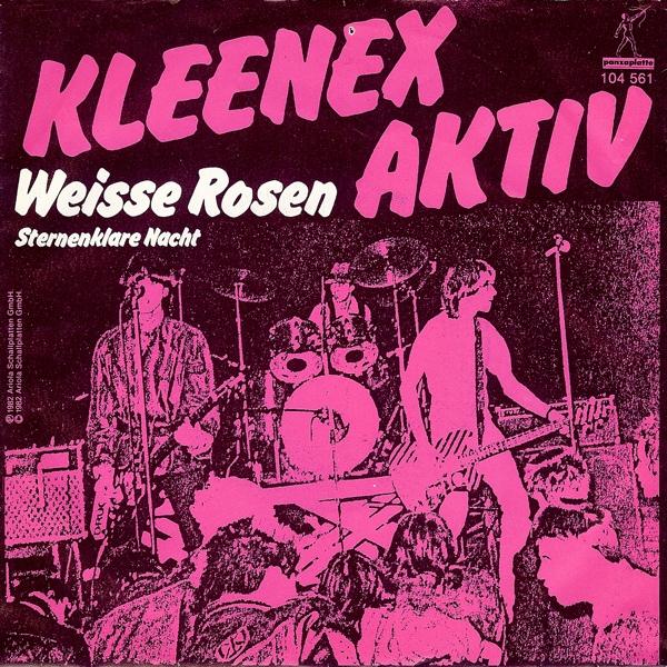 Kleenex Aktiv Weisse Rosen