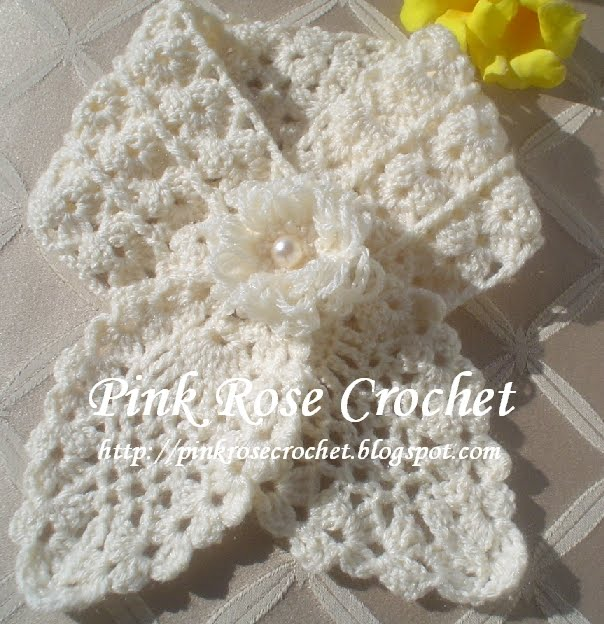 Crochet Patterns English : ... Neckwarmer (English), (translated from Roses Portuguese pattern