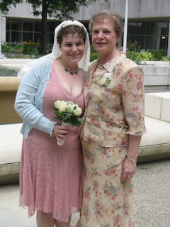me and mom wedding day