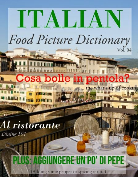 ITALIAN: Food Picture Dictionary VOL. 04 from Via Optimae
