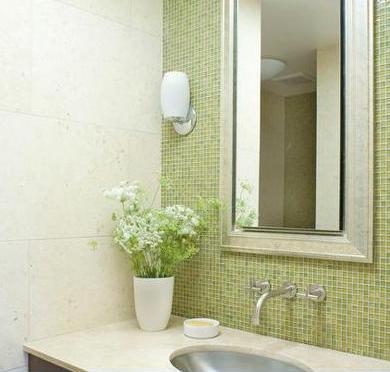 imagenes de muebles para lavamanos modernos - 20 ideas de decoración para baños modernos pequeños