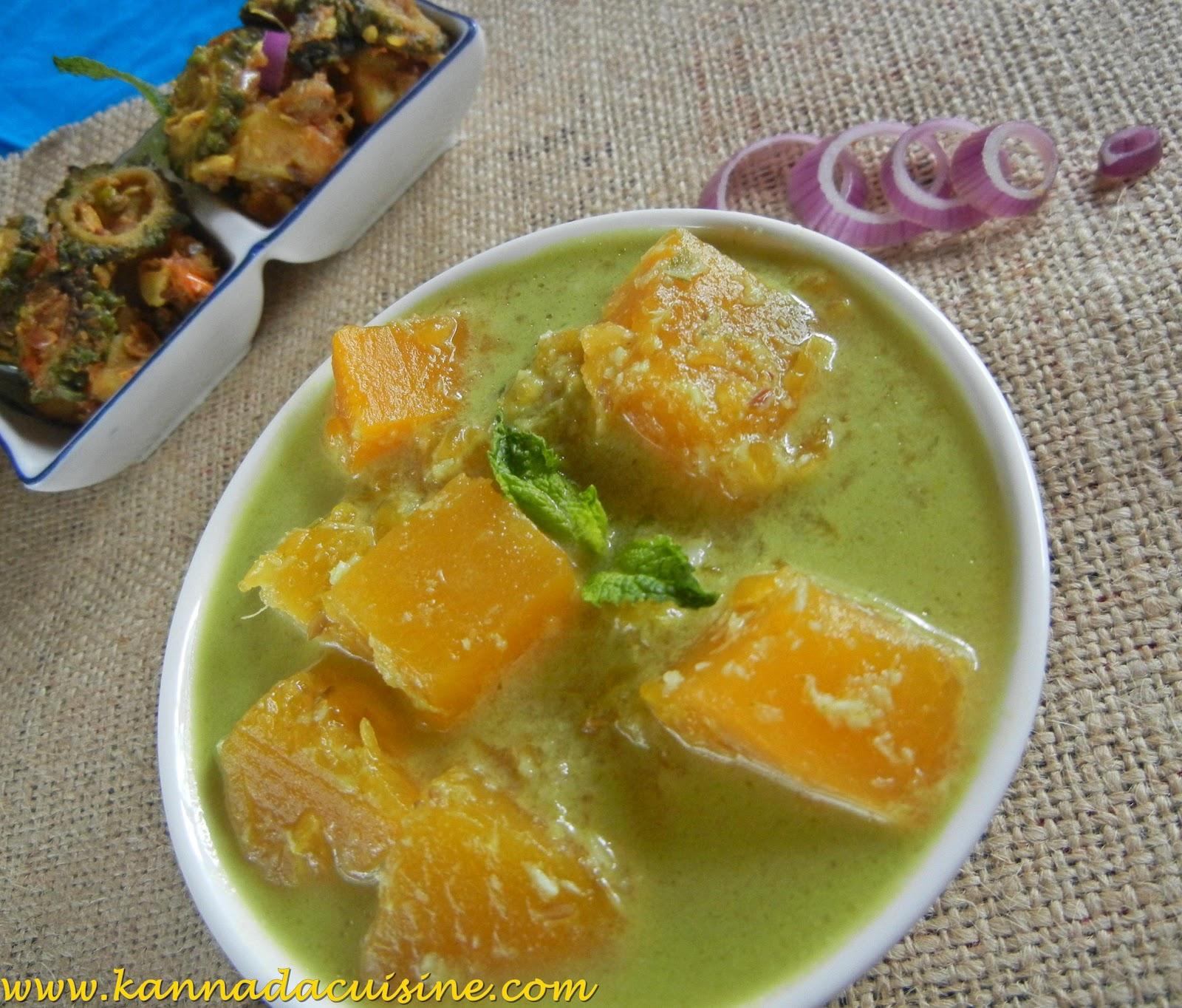 Kannada cuisine kumbalakayi kayirasa pumpkin coconut curry forumfinder Images