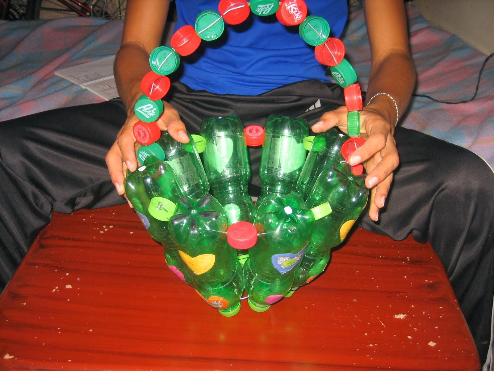 Manualidades matera reciclable - Material para jardin ...