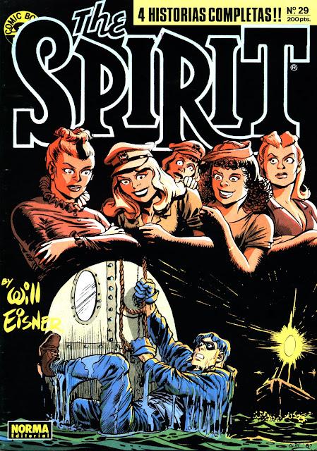 Portada de The Spirit Nº 29 Ediciones Norma por Will Eisner