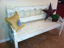 Shabby Chic Bench - SOLD