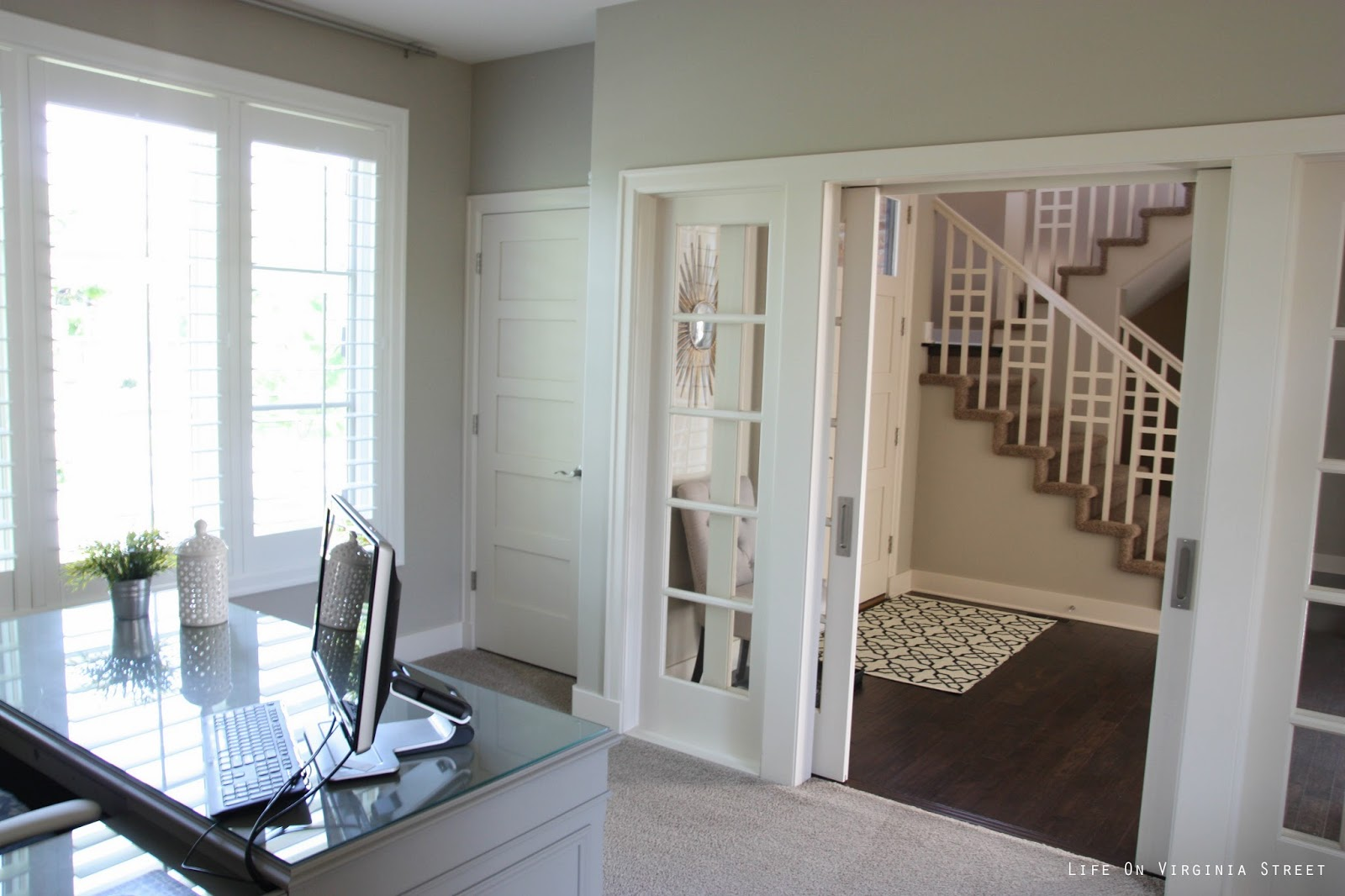13 Best Behr Castle Path Images On Pinterest: Home Office Makeover Reveal