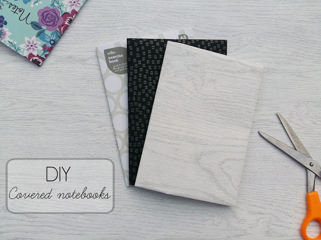 DIY - Covered notebooks
