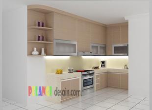 pemanfaatan ruangan dapur yang memanjang dapat dilakukan dengan ...