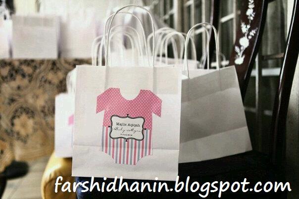 Living our dreams kenduri aqiqah dan cukur jambul myra for Idea door gift cukur jambul