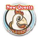 FarmVille Cluck Rogers Chicken in Space Quests Icon