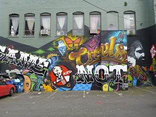 Game Not Fame – Lo Fi Performance Gallery Mural