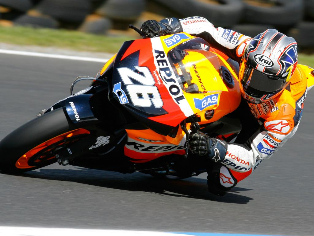 Dani Pedrosa win the Moto GP Portugal 2011