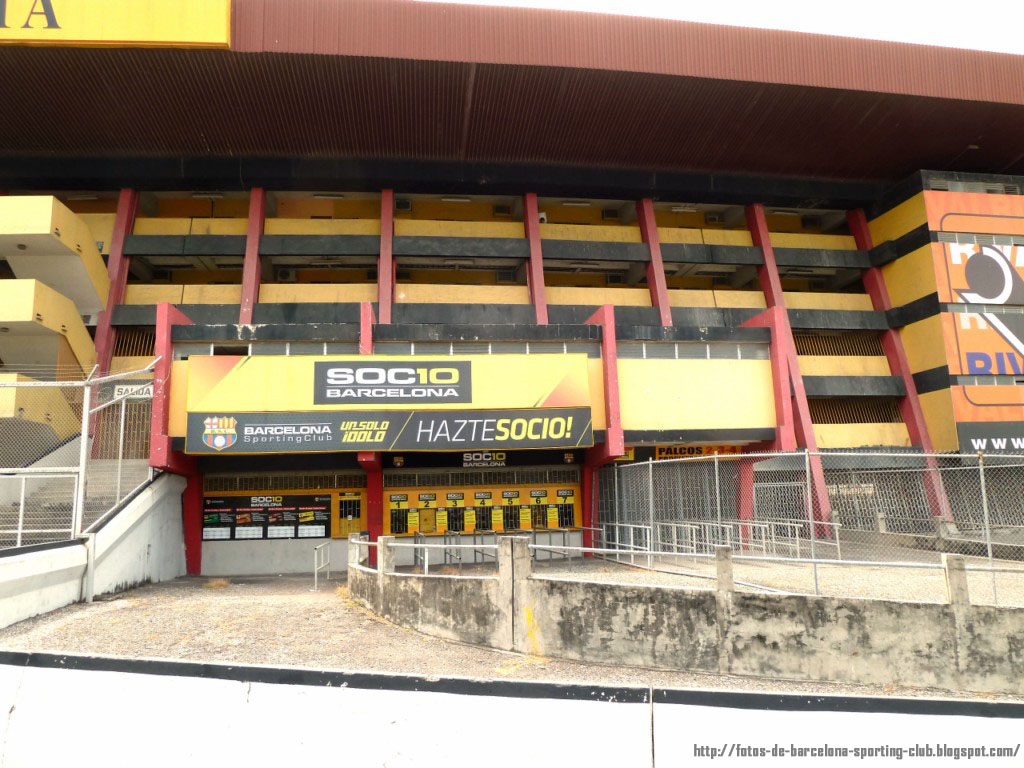 Imagenes de barcelona fotos del estadio monumental de for Oficinas de pelayo en barcelona