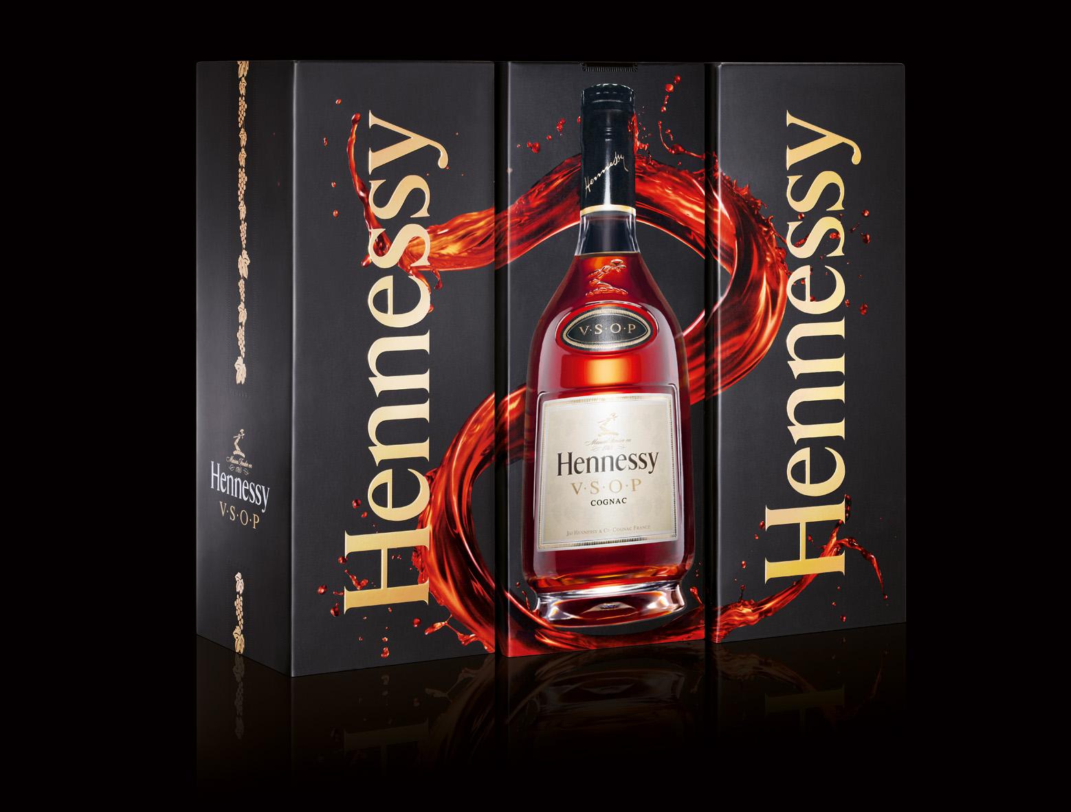 Hennessy V S O P Box Design Key Changes